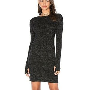 Current/Elliott Melange marled knit Sweater dress